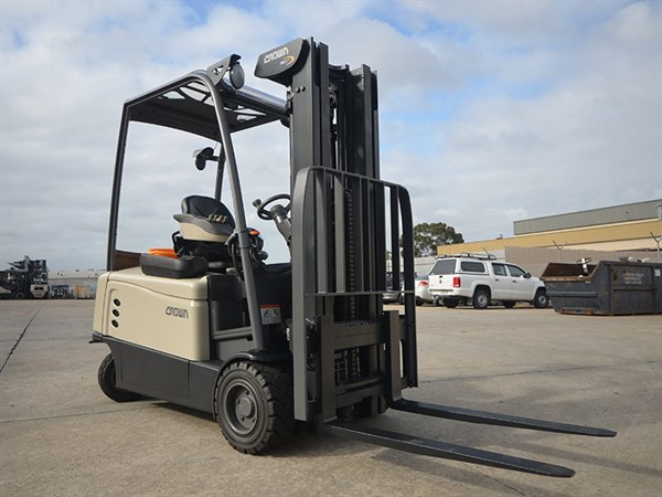 Crown ,-SC6000,-forklift ,-review ,-ATN