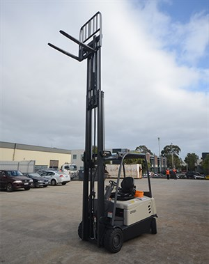 Crown ,-SC6000,-forklift ,-review ,-ATN6