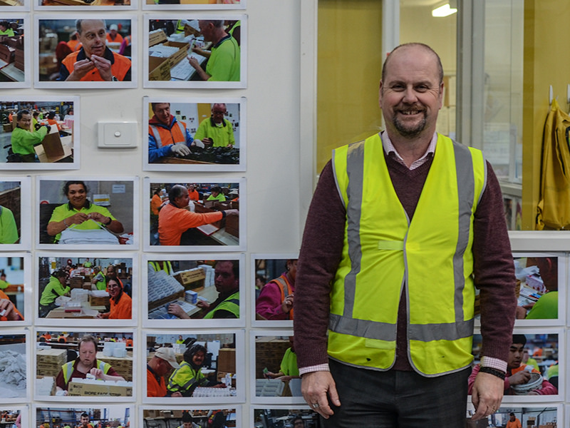 Wallara Logistics operations manager Simon O'Brien