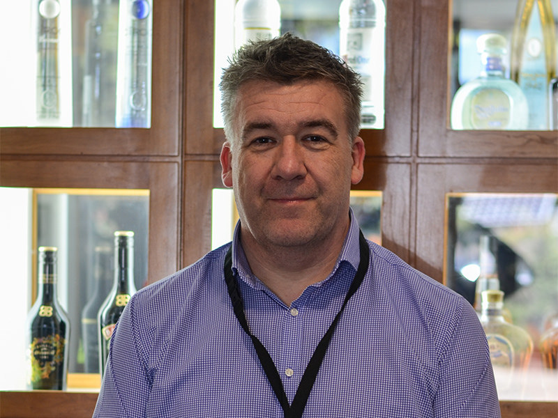 Diageo Australia supply chain manager Graham Wigglesworth