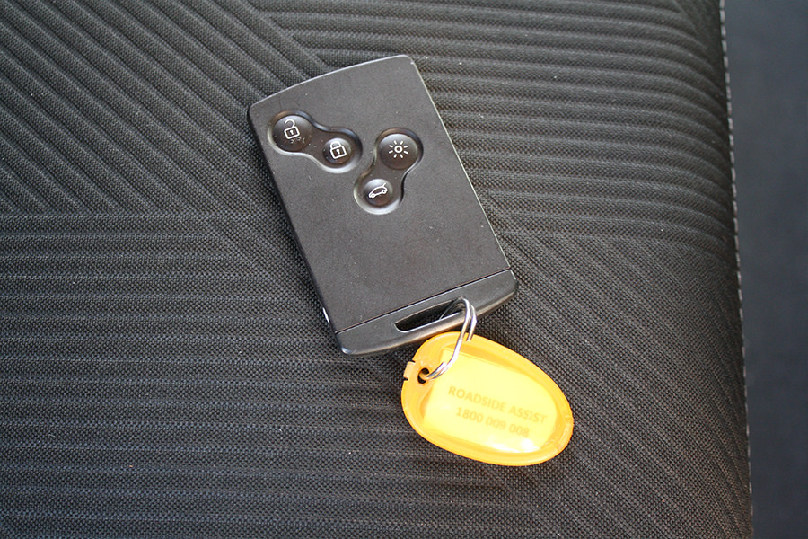 The Keycard ignition key feels a little gimmicky